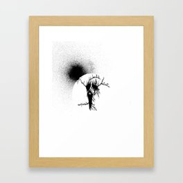 Black Sun II Framed Art Print