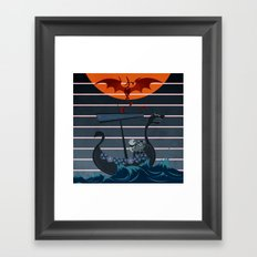 The Viking Framed Art Print