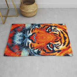 Tiger - Colorful Animals Rug