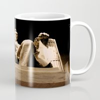 lincoln Mugs featuring Lincoln stirs by Dr. Tom Osborne