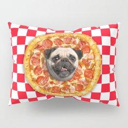 Pug Lover Pizza Pillow Sham