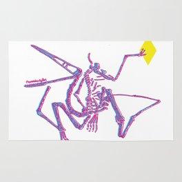 Jurassic Park Dinosaur Skeleton  Rug