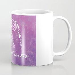 Elephant Love Purple Coffee Mug