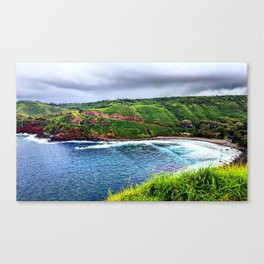 West Maui Coastline Canvas Print