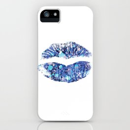 lip number 4 iPhone Case