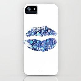 lip number 4 iPhone Case