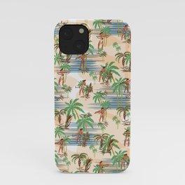 Vintage Aloha Hawaii Beach Summer iPhone Case