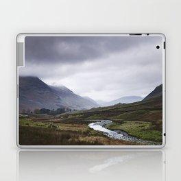 Rain clouds. Gatesgarth, Cumbria, UK. Laptop & iPad Skin