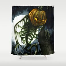 Jack the Reaper Shower Curtain