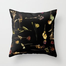 Funeral Singers Throw Pillow