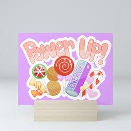 Candy Power Up Mini Art Print