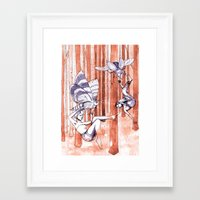 fallout Framed Art Prints featuring Fallout... by Anti-Held