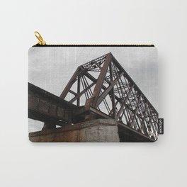 Friesland, WI Iron Rail Bridge Carry-All Pouch