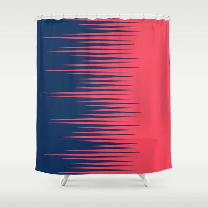 80s Half Shower Curtain