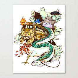 Studio Ghibli - 2 Canvas Print