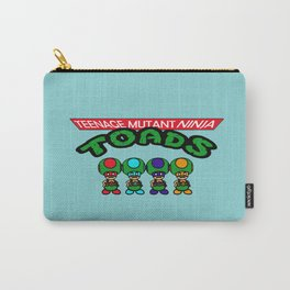 Teenage Mutant Ninja Toads Carry-All Pouch