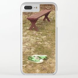 wheres the barefoot Lady (2) #22 (1) Clear iPhone Case