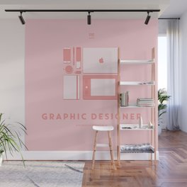 #WorkerEssentials - Graphic designer Wall Mural