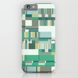 Debussy Little Shepherd (Greens) iPhone Case