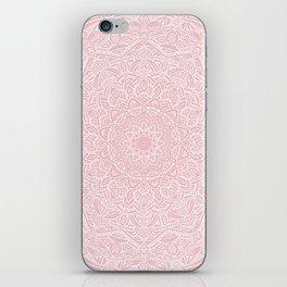 Most Detailed Mandala! Rose Gold Pink Color Intricate Detail Ethnic Mandalas Zentangle Maze Pattern iPhone Skin