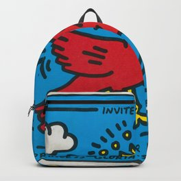 Keith Allen Haring - Hip Hop - Pop Art Culture - Shop Society6 Online 2 - 12/23 Backpack