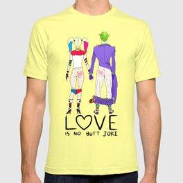 LOVE is no BUTT Joke - Handwritten T-shirt