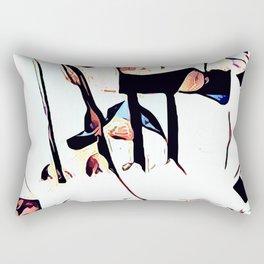 At The Movies #8 Rectangular Pillow