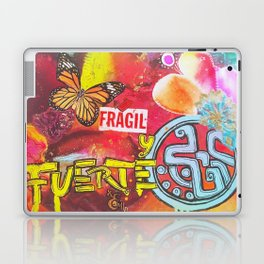 Fragil y fuerte Laptop & iPad Skin