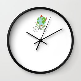 Bike Mountainbike Roadbike MTB Gift Idea Wall Clock