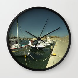 Hersonissos Harbour Wall Clock