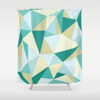 3d Shower Curtains featuring 3D by petitscoquins
