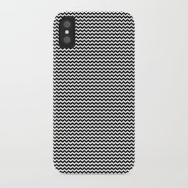 Chevron Black iPhone Case