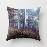 wanderlust Throw Pillows featuring Wanderlust by StayWild