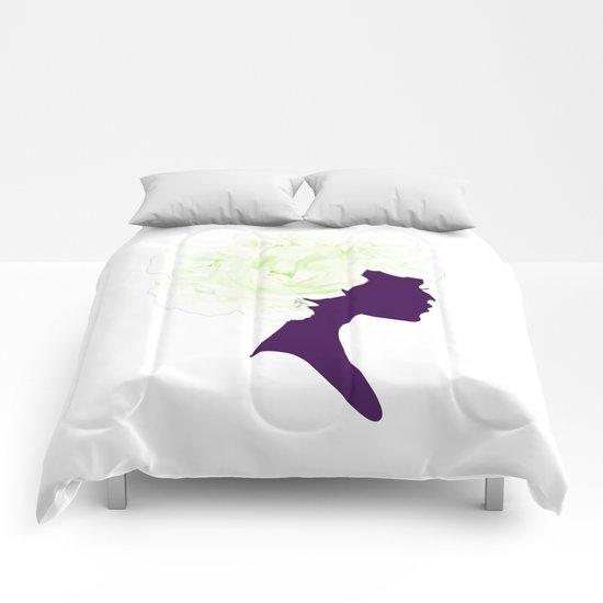 Rose Silhouette Comforters