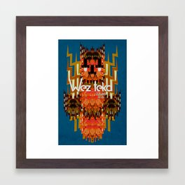 Dodi Owl of the Wezteka Union. Framed Art Print