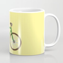 Corgi on a bike Coffee Mug