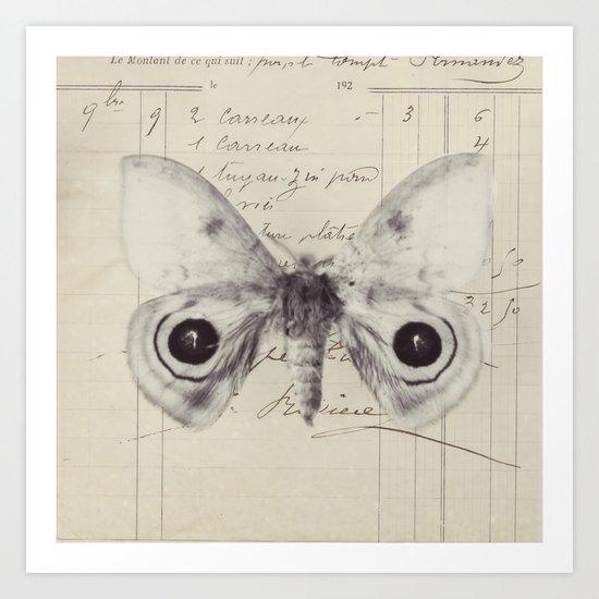 a butterfly Art Print