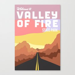 Valley of Fire State Park Canvas Print