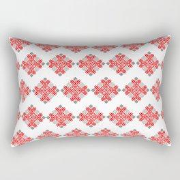 Rodimich - Antlers - Slavic Symbol #3 Rectangular Pillow