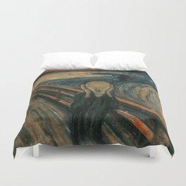 The Scream - Edvard Munch Duvet Cover