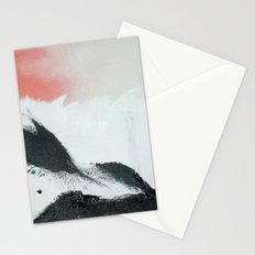 Morning's Snow Stationery Cards