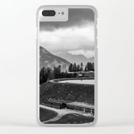 Summer storm Clear iPhone Case