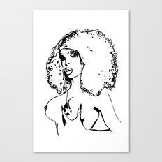 Amanda xxx Lepore. Canvas Print
