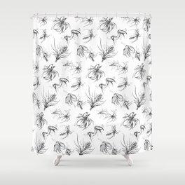 Leggy Tillandsia Shower Curtain