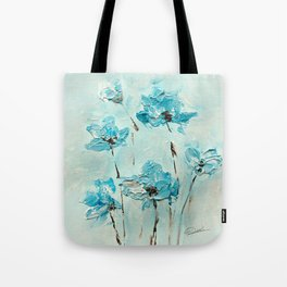Flowers (in acrylic paint) Tote Bag