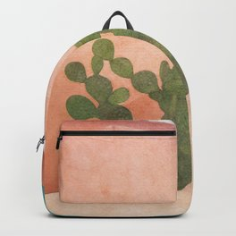 Strong Desert Cactus Backpack