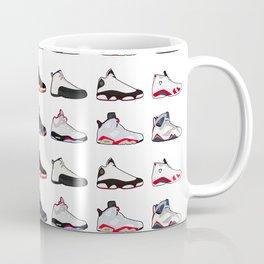 Air Jordan Series Collection 1-14 Coffee Mug