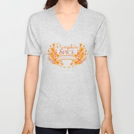 Pumpkin Spice Everything Unisex V-Neck