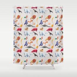 Animal kingdom Shower Curtain