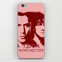 winchester iPhone & iPod Skins featuring Team Winchester by Panda Cool